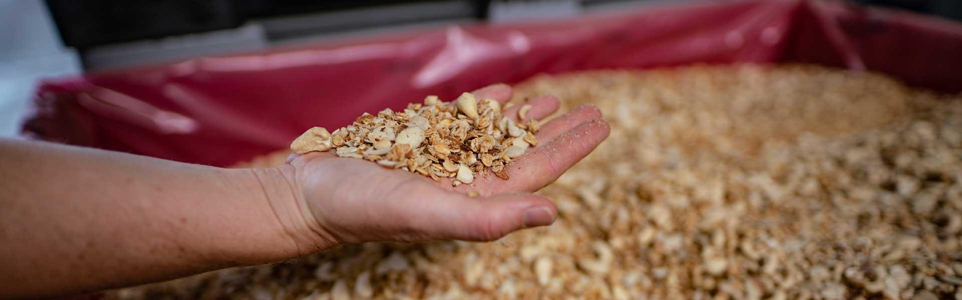 Verwertung Nach- und Nebenprodukte - Lebensmittelrecycling Hagemann Dienste GmbH